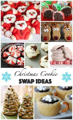 Love all of these Christmas Cookies! Great cookie swap ideas from Princess Pinky Girl!