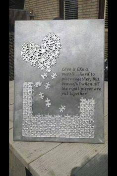 Puzzel op canvas