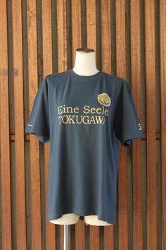 T-shirt also has an emblem using the fern design Tokugawa Ieyasu, Fern, Shirt Dress, T Shirt, Samurai, Dresses, Design, Fashion, Fern Plant