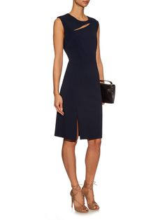 Zoya cut-out crepe dress | La Mania | MATCHESFASHION.COM UK