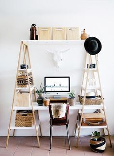 Invest in Unique Pieces - Refreshingly Minimalist Small Space Hacks - Photos