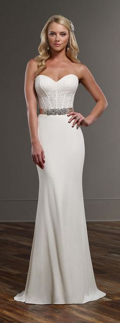 Watters Wtoo Pippin style 13111 Size 6 Wedding Dress | Gowns, Chapel ...