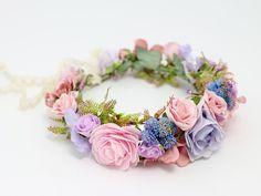 Flores para el pelo - ♥ Corona de flores ♥ - hecho a mano por LolaWhite en DaWanda #boda #novia #novio #invitadas #invitados #bodasDIY #DaWanda #hechoamano #weddings #manualidades #bodashandmade #handmade