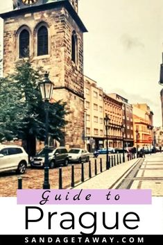What to eat see and do in Prague, Czech Republic.