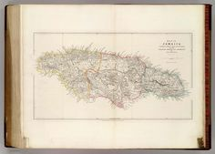 Map of Jamaica compiled chiefly from manuscripts in the Colonial Office and Admiralty by John Arrowsmith. 35 Essex St. London, Pubd. 22nd April 1842 by John Arrowsmith, 10 Soho Square.