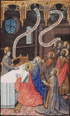 Christ giving the communion to the apostles francois maitre - Google Search