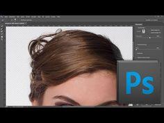 TASPP 53: Photoshop CC Auswählen und maskieren (Teil 1) ... Haare freistellen - YouTube