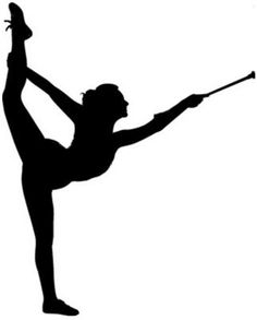 Baton Twirling is a fun sport to do, I love it! Wallaper Iphone, Color Guard, Beautiful Drawings, Cricut Explore, Twirling Baton, Silhouette Design, Picture Photo, In This World, Cheerleading