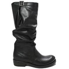 Art. Bik/A - New Collection -Fall Winter 14/15   Stivali  Biker Boots in Vera Pelle Nero. Con Fodera interna in Lycra.  Dettaglio doppia impuntura laterale, cinturino posteriore regolabile altezza tacco:  3,5 cm 100% Made in Italy di produzione artigiana. #stivali #alti #highboots #bikerboots #biker #boots #madeintaly #nero #verapelle #woman #shoppingonline #personalshoepper #bik #kirabonelli