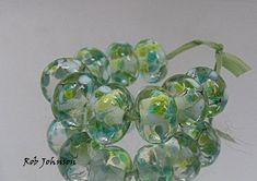 Fen Summer Artisan Lampwork Glass Beads SRA UK
