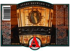 Avery Uncle Jacob's Stout (aged in Bourbon Barrels) returns on July 7th