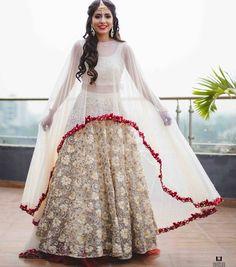 "1,380 Likes, 7 Comments - Wedding ¦ Bride ¦ Shaadi ¦ IGW (@indiagramwedding) on Instagram: ""You gotta look at the lehenga. ✔️Added to Bucket List. #IndiagramWedding #lehenga…"""