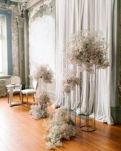 New Ideas Wedding Decorations Ceremony Families Ceremony Decorations, Wedding Centerpieces, Gypsophila Wedding, Wedding Backdrop Design, Flower Installation, Boho Home, Wedding Stage, Wedding Ceremony, Reception