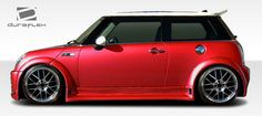 Duraflex 02-06 Mini Cooper Type Z Wide Body Fender Flares Kit