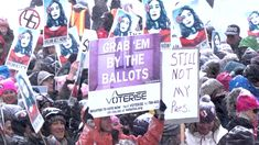 Hundreds of thousands of people took to the streets across the country this weekend to mark the first anniversary of last year's historic Women's March protesting President Trump's inauguration. As Democracy Now! broadcast from the Sundance Film Festival in Park City, Utah, protesters braved freezing temperatures and a snowstorm to take part in a Respect Rally. We feature the voices of longtime women's rights attorney Gloria Allred and actress Jane Fonda, and speak with actress Tessa…