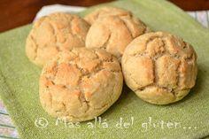 Más allá del gluten...: Pan / Mogollitas de Amaranto (Receta GFCFSF, Vegana)