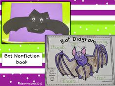 Batty Over Bats! The kids love recording all of the cool facts they've learned in their very own book that they can take home and share.