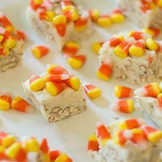 Candy Corn-Pretzel Fudge | foodraf