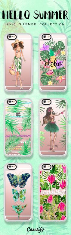 Hello summer. Click through to see our latest 2016 #summer collection >>> https://www.casetify.com/collections/summer | @casetify