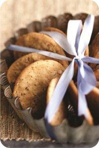 Embalagem Biscoitos de Natal - Fôrma de torta