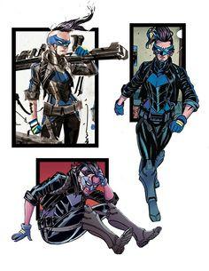 Comic Movies, Comic Books, Harper Row, Batman Family, Stan Lee, American Comics, Teen Titans, Dc Universe, Gotham