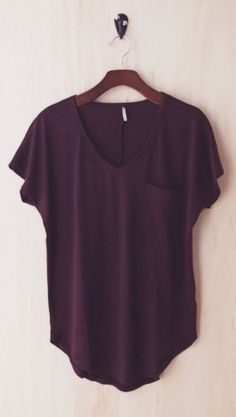 I don't have enough purple in my wardrobe. I would love this! Cute and simple!