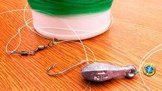 ►► Aprenda Cómo hacer la Armada y Montar un Aparejo o Línea de Mano Básico Barato para Pesca de orilla,anzuelo,plomo,hilos.Completo.