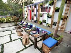 exotic outdoor space