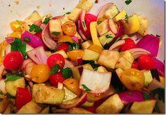Caponata Salad from Lydia's kitchen....(Eggplant salad...delish!!!)