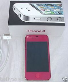 Custom pink iphone 4!