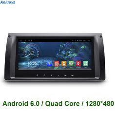 2 DIN Android 6.0 CAR DVD GPS Navigation For BMW X5 E39 1996-2003 X5 E53 2001-2007 M5 1996-2003 car radio audio headunit WIFI 3G #Affiliate