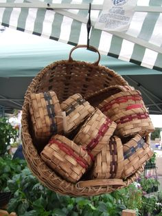 One of my most popular designs, this basket has 100 uses! Use it to serve anything from bread to kabobs. Also works well in a bathroom for