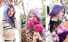 Why you should dress around your hair colour | Emi Unicorn