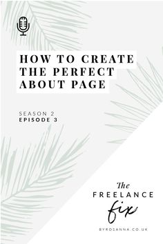 Get to know your target customer - The Freelance Fix Podcast with byRosanna