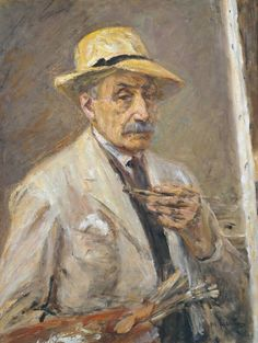 Max Liebermann-self portrait.