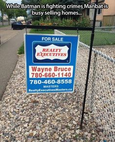Bruce's lesser know nerdy cousin went into real estate...