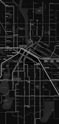 Minneapolis Future transit map