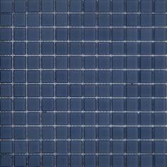 MOSAICOS DE CRISTAL: CRISTAL AZUL ACERO 30x30 cm