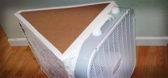 Better Box Fan Air Purifier. 250% more filter surface and more air-flow leaving the motor less strain.