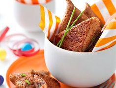 Galette au blé noir, saumon et oseille façon samoussa Voir la recette des galettes au blé noir et saumon