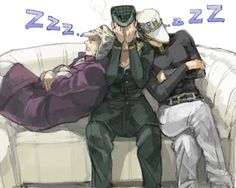 Jojo's Bizarre Adventure. When your dad and nephew fall asleep on you