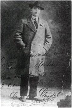 Carlos Gardel en 1913