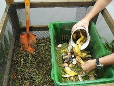 palito na geral: COMO FAZER uma compostagem doméstica