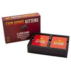 A Very Interesting Game Of Cards Exploding Kittens Original