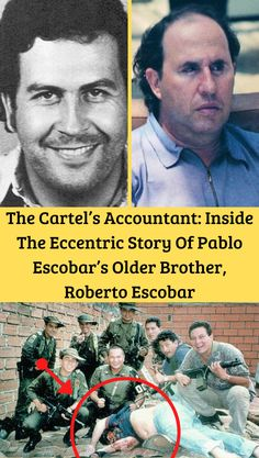 Pablo Escobar may be the infamous name everyone recognizes, but his brother Roberto Escobar is the one still profiting from their violent ventures. Fun Facts Scary, Weird Facts, Run Tour, Pablo Escobar, Crazy Quotes, Weird Pictures, S Stories, Writing A Book, Top Rated