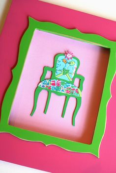 lilly chair wall art1c by lwhelan, via Flickr