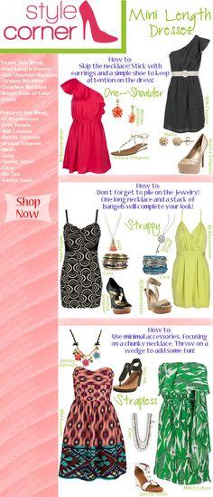 Style Corner - Mini Length Dresses - March 16 - 23 #VonMaur
