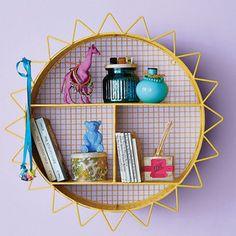 Sun Wall Shelf