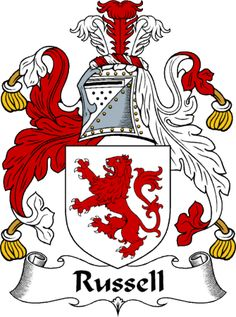 Russell family crest - Google Search