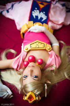 Zelda - The Legend of Zelda: Wind Waker cosplay Belle Cosplay, Video Game Cosplay, Cosplay Anime, Epic Cosplay, Amazing Cosplay, Cosplay Outfits, Cosplay Girls, Cosplay Costumes, Cool Costumes